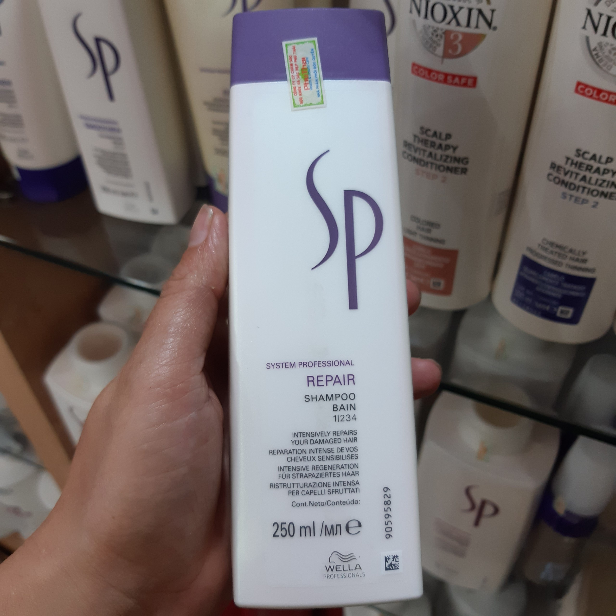 Dầu Gội SP Wella Repair 250ml
