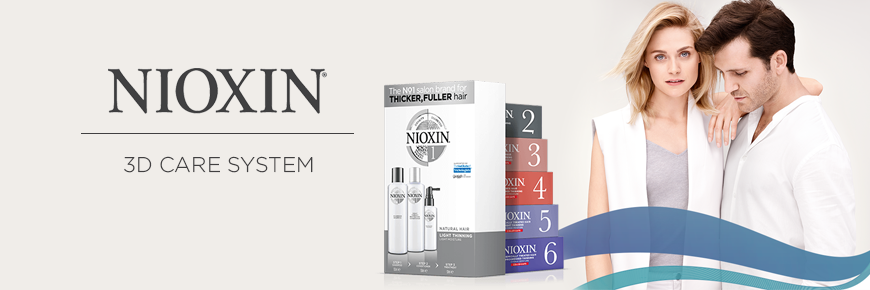 6 Hệ Thống Chống Rụng Tóc Nioxin - Mỹ